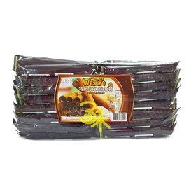 印尼  ~Wasuka~味覺百撰 爆漿特級巧克力威化捲 CIGARKU  1箱 10包