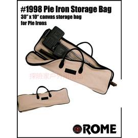 1998美國ROME羅馬鑄鐵達人 烤具收納袋 鑄鐵烤爐原廠收納攜型袋
