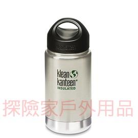 K12VWSSL~BS美國Klean kanteen可利鋼瓶不鏽鋼保溫寬口水瓶 原色鋼 1