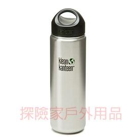 K27WSSL~BS美國Klean kanteen可利鋼瓶不鏽鋼54mm寬口鋼瓶^(原色鋼