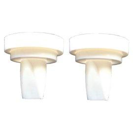親寶白色鴨嘴氣閥2入- 於美樂、貝瑞克吸乳器、貝瑞克9 9plus,非 , 同美樂活塞白膜