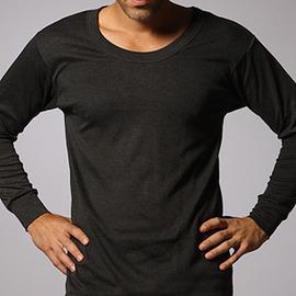 遠紅外線保暖發熱男用內衣-黑色