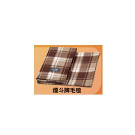 贈品隨意賣【煙斗牌】針織刷毛布◆保暖、舒服、柔軟◆雙人毛毯