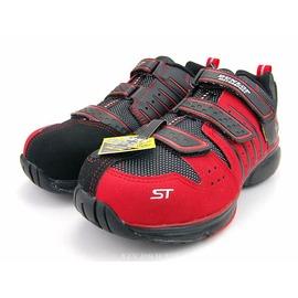 DUNLOP~4E寬楦鋼頭耐油工作鞋-紅 (DPST302-10)