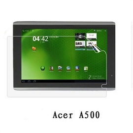 (平板)acer A500 平板螢幕保護膜/保護貼/三明治貼 (防刮高清膜)