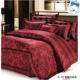 ONE~THIRD 中式寢具 6~6.2 ~R790華麗巴洛克七件式