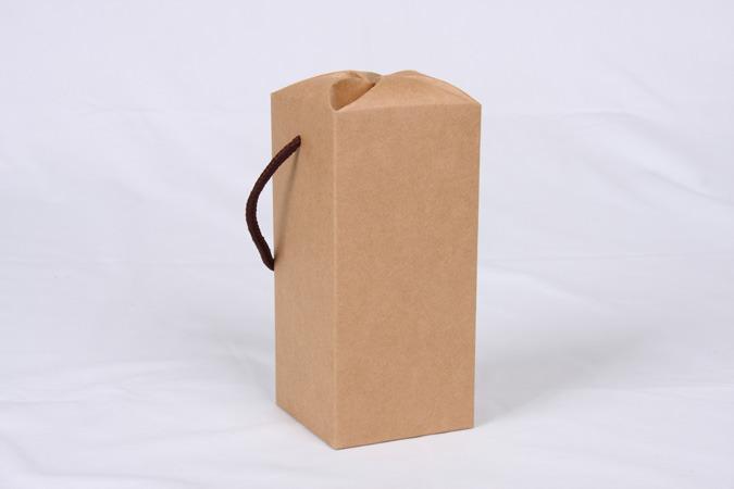 【盒库】※【公版包装纸盒】-【手提梅花日本底盒】-【b-528】-200个