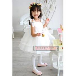 ~A13~氣質天使款 小禮服花童服 蓬蓬裙 兒童禮服 結婚花童音樂會~P P~