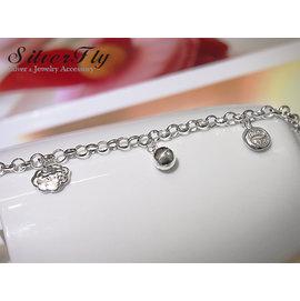 ~ SilverFly銀火蟲銀飾 ~平安鎖 兒童純銀手鍊