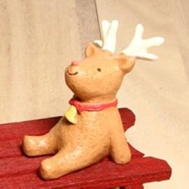〔圖樣狩獵隊〕 ~仰望星空療癒系小動物~小麋鹿~節慶 款~