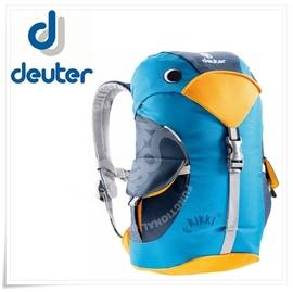【德國 Deuter 】Kikki 6L 大嘴鳥 可愛兒童背包.輕量透氣休閒背包.小背包.登山健行背包.上課背包.舒適耐磨 _  36093 藍/水藍