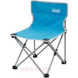 CM-7689美國Coleman輕量小型休閒椅 彈性椅Ⅱ(天空藍) 兒童椅 導演椅 折疊椅