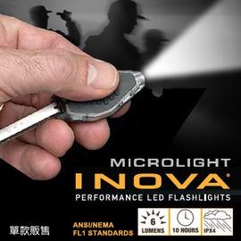 INOVA microlight LED手電筒 透明殼(CB-W)