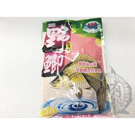 ◎百有釣具◎黏巴達 [K38] 野鯽 - 野生鯽魚餌 ~香甜地瓜絲 首創飄浮香料
