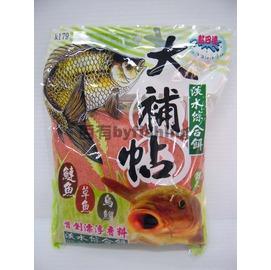 ◎百有釣具◎黏巴達 [K179] 大補帖 - 淡水綜合餌 ~ 首創漂浮香料