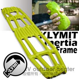 【美國 Klymit 】Inertia X Frame世界最輕首推中空空氣睡墊(附pump) 輕量空氣墊.露營登山床墊.(非Therm-A-Rest/自動充氣)/黃 IXF pump