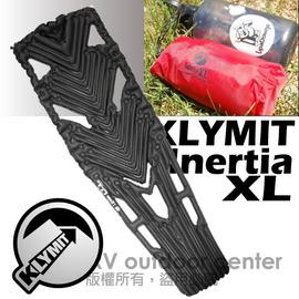 【美國 Klymit 】Inertia XL世界最輕首推超大空氣睡墊(附pump).輕量空氣墊.露營登山床墊.(非Therm-A-Rest/自動充氣)/黑 06XLBK01D