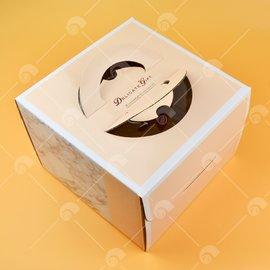 【艾佳】6吋蛋糕盒-小紅帽(含提袋)/組