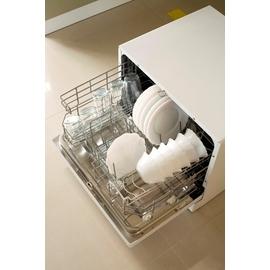 美寧6人份自動洗碗機JR~3212A^~贈洗碗機 洗劑一組及加濕型電暖器