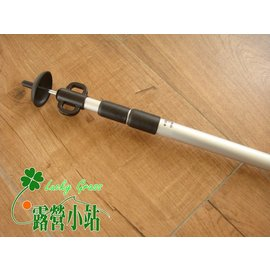 大林小草~ 【4711-211-1】 A級鋁合金雙耳伸縮營柱(190CM),單支+防雷帽