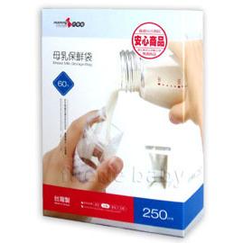六甲村母乳保鮮袋60入250ml