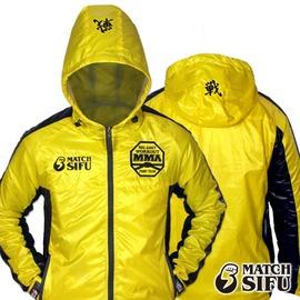 ~Match Sifu~透濕戰鬥風衣(黃色) 級吸濕排汗•100^% 製(S^~XL)火柴