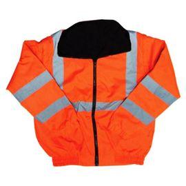 兩用反光外套 橘色★冬季兩用外套  袖子可拆★防風、防水、輕盈★內為刷毛設計