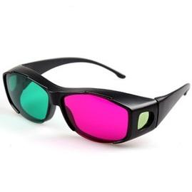 高檔樹脂全框架 立體3D眼鏡/3D紅綠眼鏡