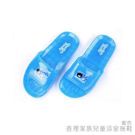 ~333家居鞋館~查理家族兒童浴室拖鞋~藍色