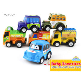 【HH婦幼館】兒童玩具迷你迴力小汽車/益智玩具/一袋六輛