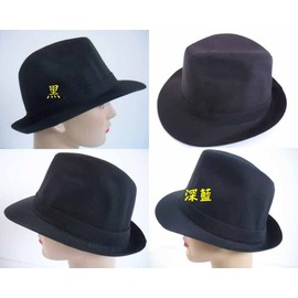 阿寄帽舖  帽沿5公分 布質 素面 男女可載 紳士帽^!^! 紙箱包裝^!^!
