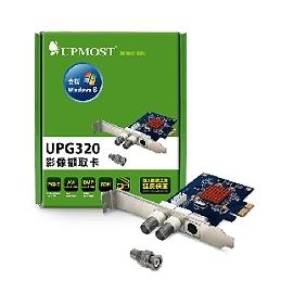 ~電子 ~UPMOST 登昌恆 UPG320 PCI~e 2~Port 影像擷取卡 AVI
