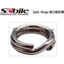 ~百有釣具~SEBILE 強力路亞環 規格11mm 於各類淡水路亞、大小型海水路亞、船釣鐵