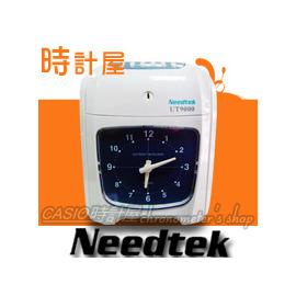 CASIO 時計屋_Needtek 優利達 UT~9000 黑 紅雙色六欄微電腦LCD打卡