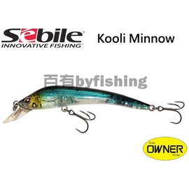 ◎百有釣具◎SEBILE KOOLIE MINNOW ML 魚形路亞假餌 90mm 8.8g / 102mm 15.3g