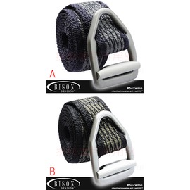542  美國 BISON DESIGNS 毒蛇V型扣腰帶