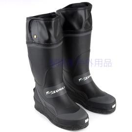 UL68長筒防滑鞋菜瓜布底+釘底+橡膠底 橡膠有釘磯釣釘鞋  釣魚 溯溪