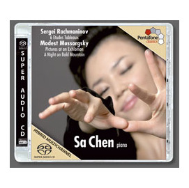 Penta Tone SACD PTC 5186 355 ~ Sergei Rachman
