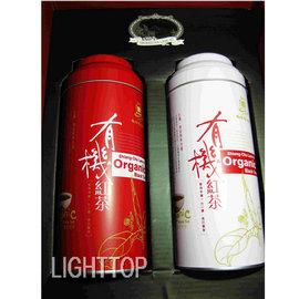 香茶巷40号@有机认证精美礼盒MIT红茶@8号75g+18号75g(双认证标章) 铁罐(有机茶叶)+硬盒+精美纸袋重量