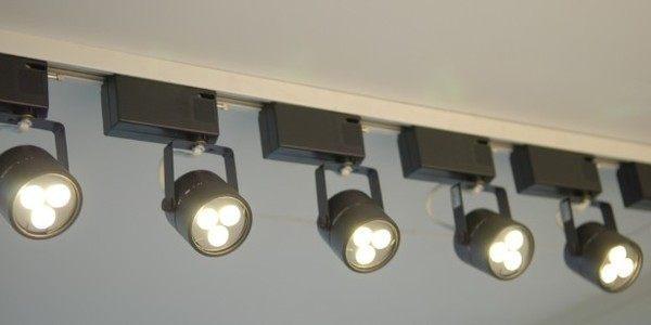 mr16 5w 12v 黑圆头轨道灯组 (含灯具+led专用变压器+5w le