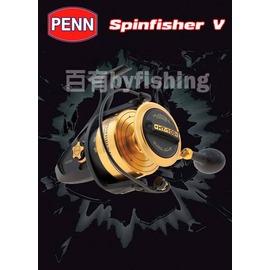 ◎百有釣具◎PENN SPINFISHER V 紡車捲線器 SSV4500型~全金屬的機體結構,超高的強度與耐久度,與超強的耐侵蝕