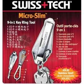 大林小草~【D-MXST67100】 SWISS+TECH Micro-Slim 9合1多功能工具組、鑰匙圈