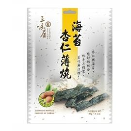 海苔杏仁薄燒 ^(代號 :F91^)