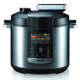 【飛利浦】《PHILIPS》17項智慧烹調+感應觸控式面板◆頂級智慧萬用鍋《HD2175 / HD-2175》