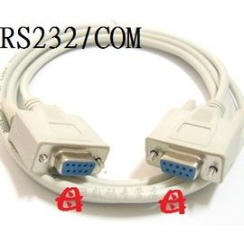 遊戲手把/搖桿接頭 RS232線/COM阜線 (9針) 母對母 1.5米 (直通)