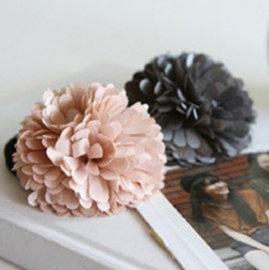 韓國時尚可愛甜美頭花/花朵髮圈/髮繩 髮飾 頭飾