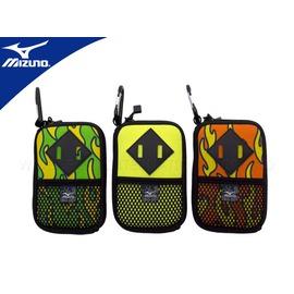 MIZUNO 數位包(火圖騰 透氣網袋 附扣環 防護包 手機袋 免運【05480236】≡排汗專家≡