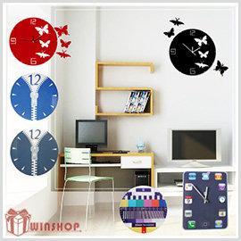 【Q禮品】A1503 DIY壓克力掛鐘/時鐘/造型鐘/壁鐘/靜音鐘/方形鐘圓形鐘/iphone造型鐘/客製化印製