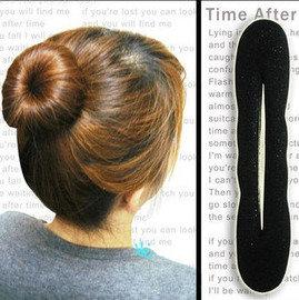 包子頭快速綁髮器/海綿盤髮器 ◇/海綿寶寶快速綁髮器,盤髮 編髮 日系 丸子頭 包包頭