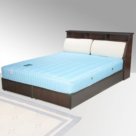 ~Homelike~黛絲5尺床組~雙人 床台 床底 床頭箱  二色